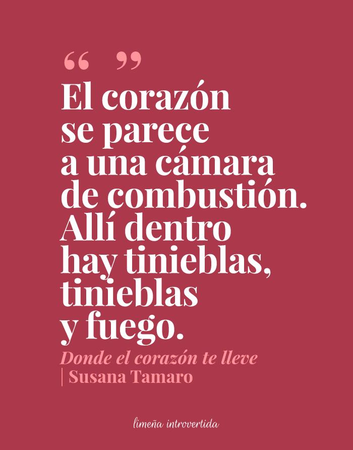 Frase Del Libro Donde El Corazón Te Lleve De Susana Tamaro