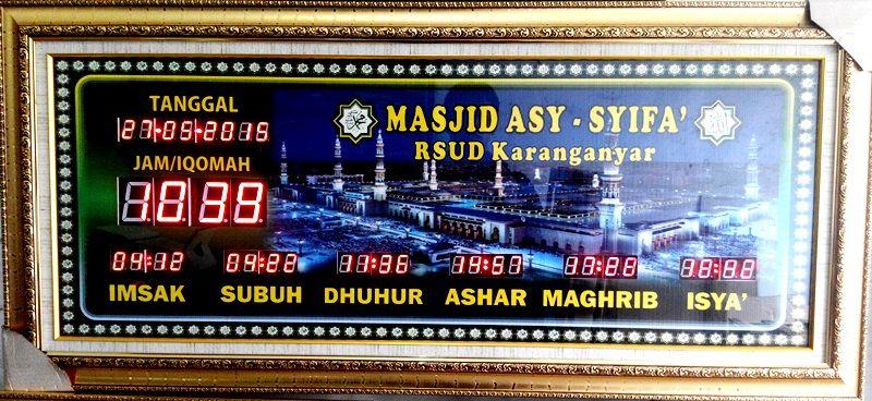 Pin Oleh Jam Digital Masjid Di Jam Digital Masjid Batam 0812 2890