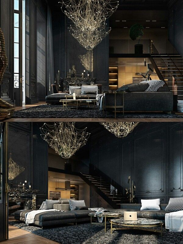 Chandelier   Gothic home decor