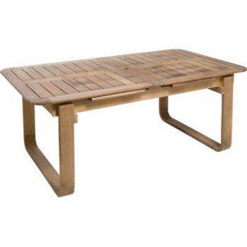 Table De Jardin Naterial Resort Rectangulaire Naturel 6 A 8 Personnes Leroy Merlin Table De Jardin Table Bois Table Salon De Jardin