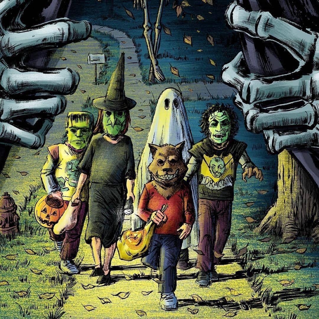 Halloween Creepers On Instagram Artist Unknown