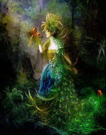 Be Free, Little One, Be Free by InertiaK  digital paint - Photoshop