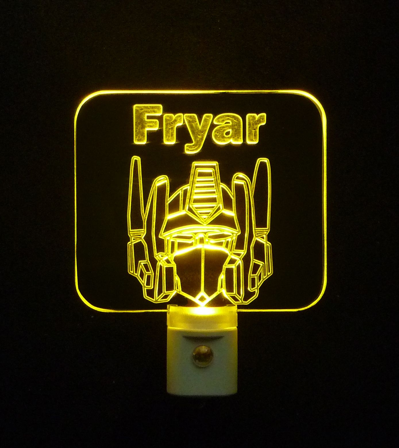 Night lights designs -  Optimusprime Transformers Personalized Led Night Light 3d Engraved 3 8 Clear