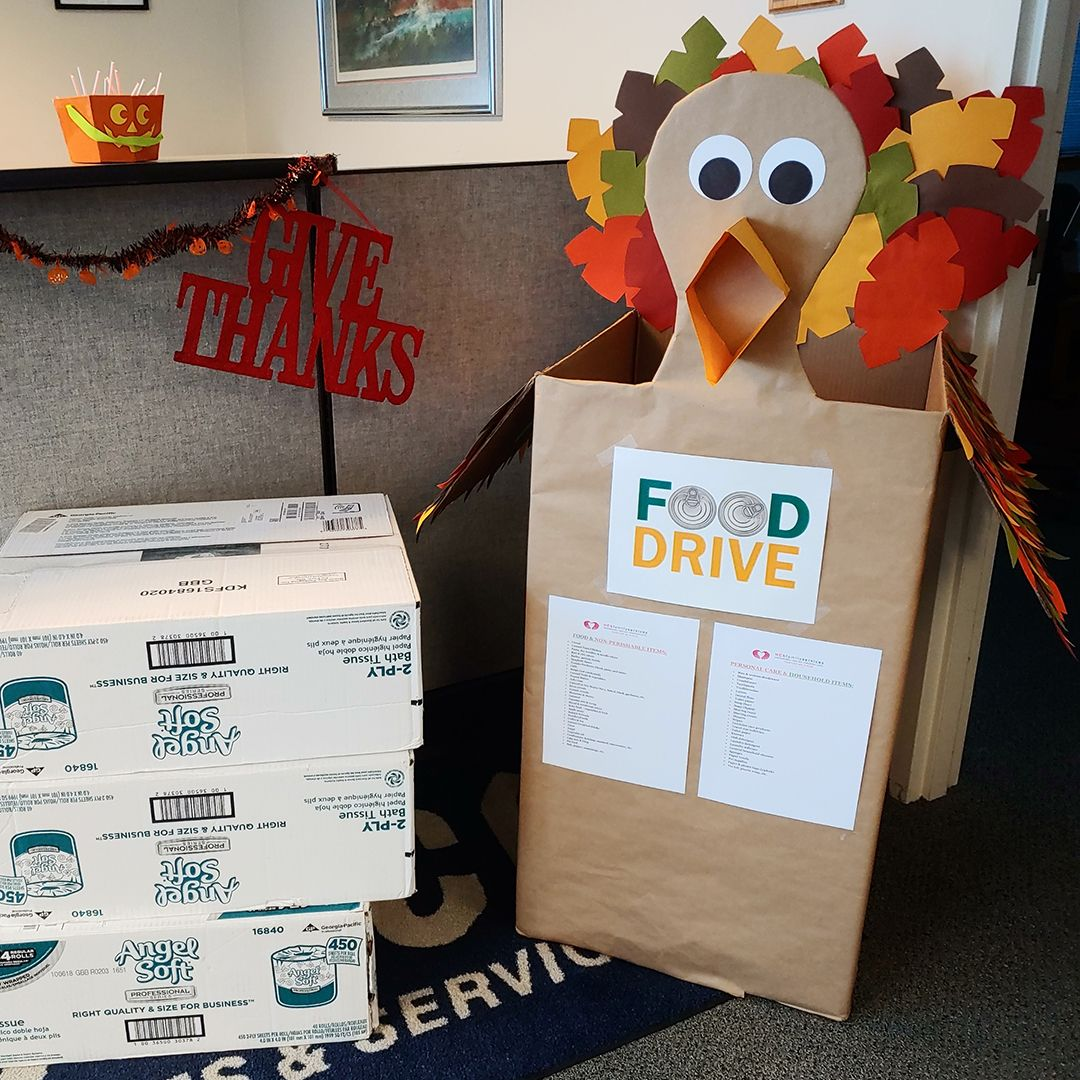 ALCO's Annual Food Drive Food drive, Medical equipment