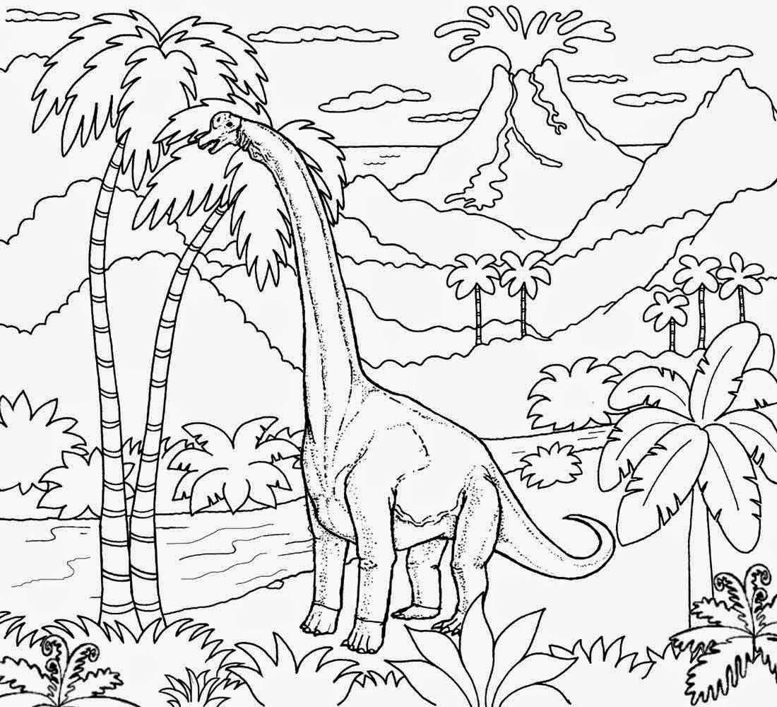 Jurassic Period Dinosaur Diplodocus