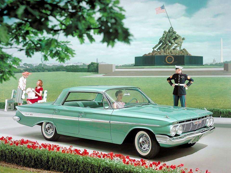 Семпер Импала и hellip;1961 Шевроле цветной прессрелиз