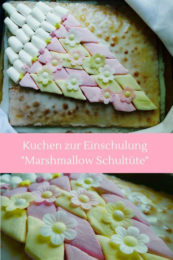 Kuchen Zur Einschulung Schultute Einfaches Rezept Und Sooo Hubsch
