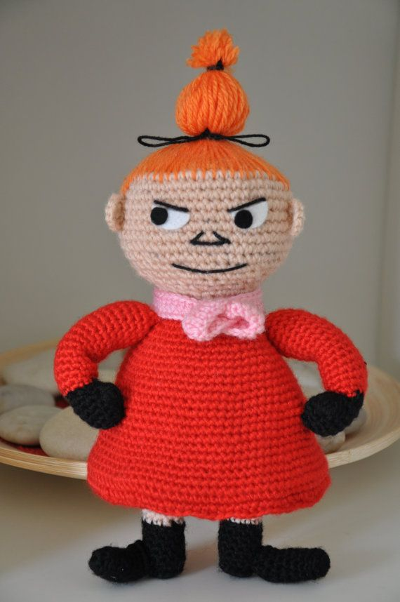 Moomin and Little My - 2 PDF crochet patterns | Crochet toys ...