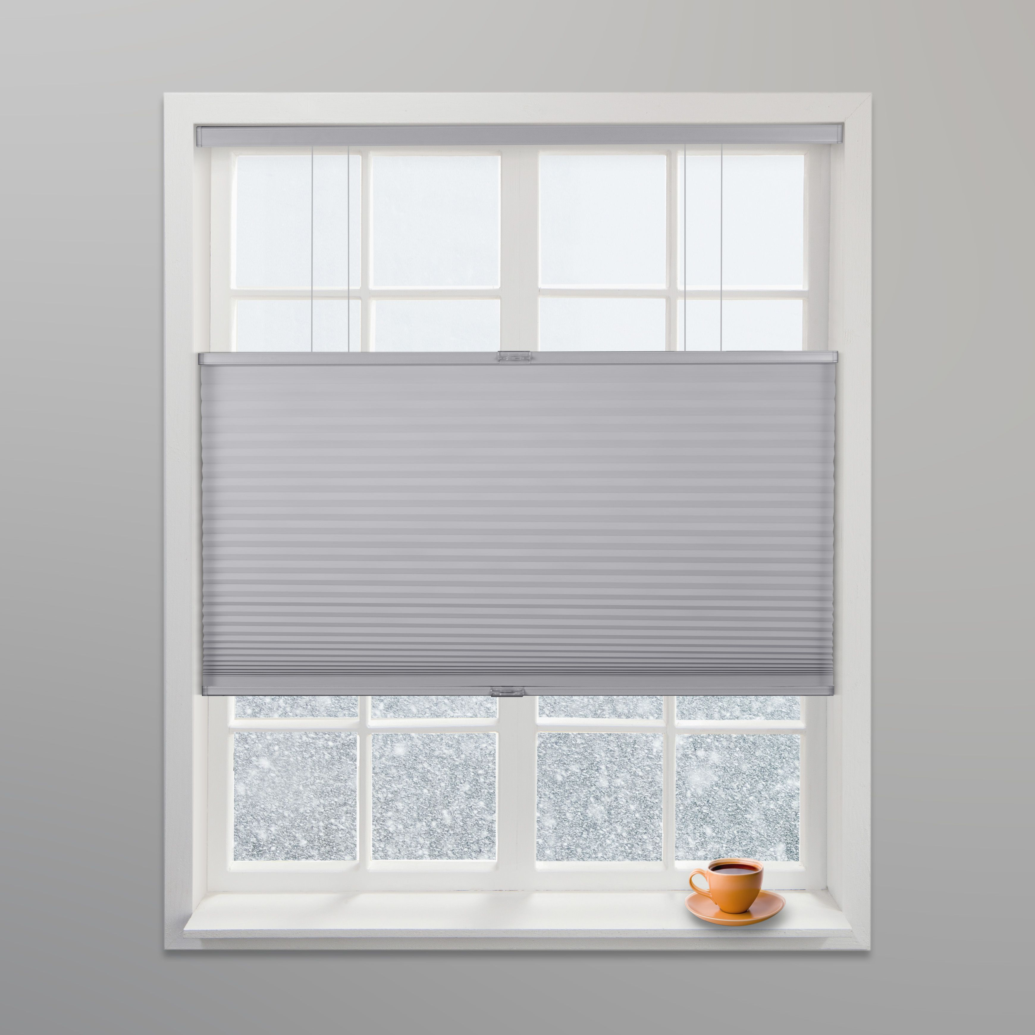 Arlo blinds grey light filtering top down bottom up deluxe