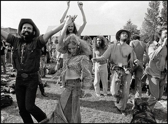 History of the hippie movement
