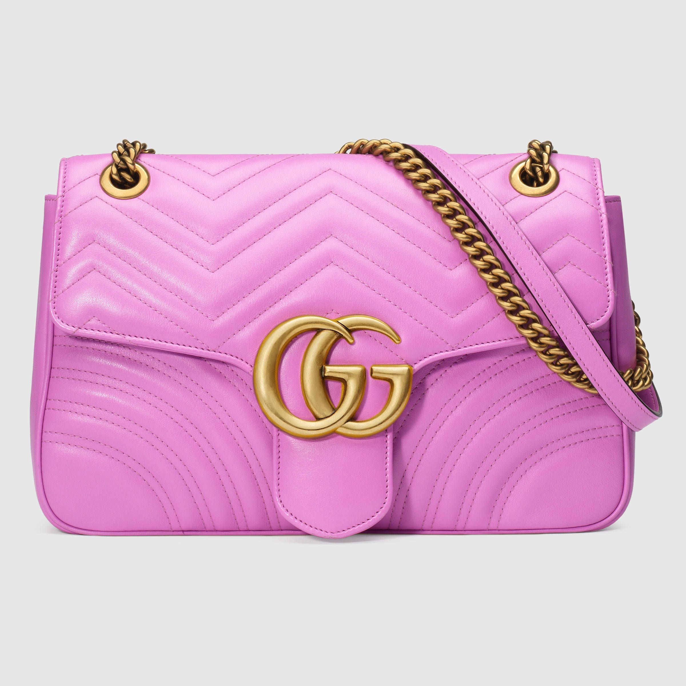 953fd0fbe6f3 GG Marmont matelassé shoulder bag in 2019 | Pretty Things | Gucci ...