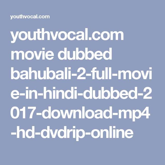 download - Bahubali (2016) Telugu Film Dubbed Into Hindi Full Movie |  Prabhas,