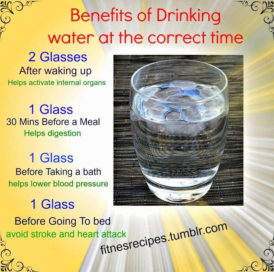 water, but without ice, at room temperature | health, beauty and ...