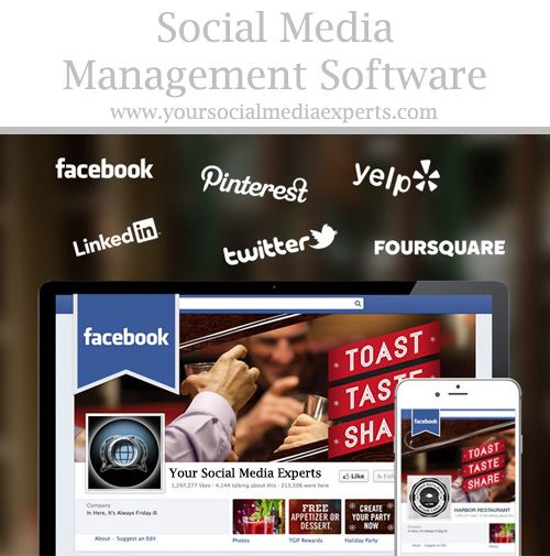 Your Social Media Experts Management Software Brochure! Start - software brochure