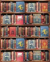 Bodleian Library St1299 Christmas Bookshelf Advent Calendar Bodleian Library St1299 Christmas Bookshelf Advent Calendar