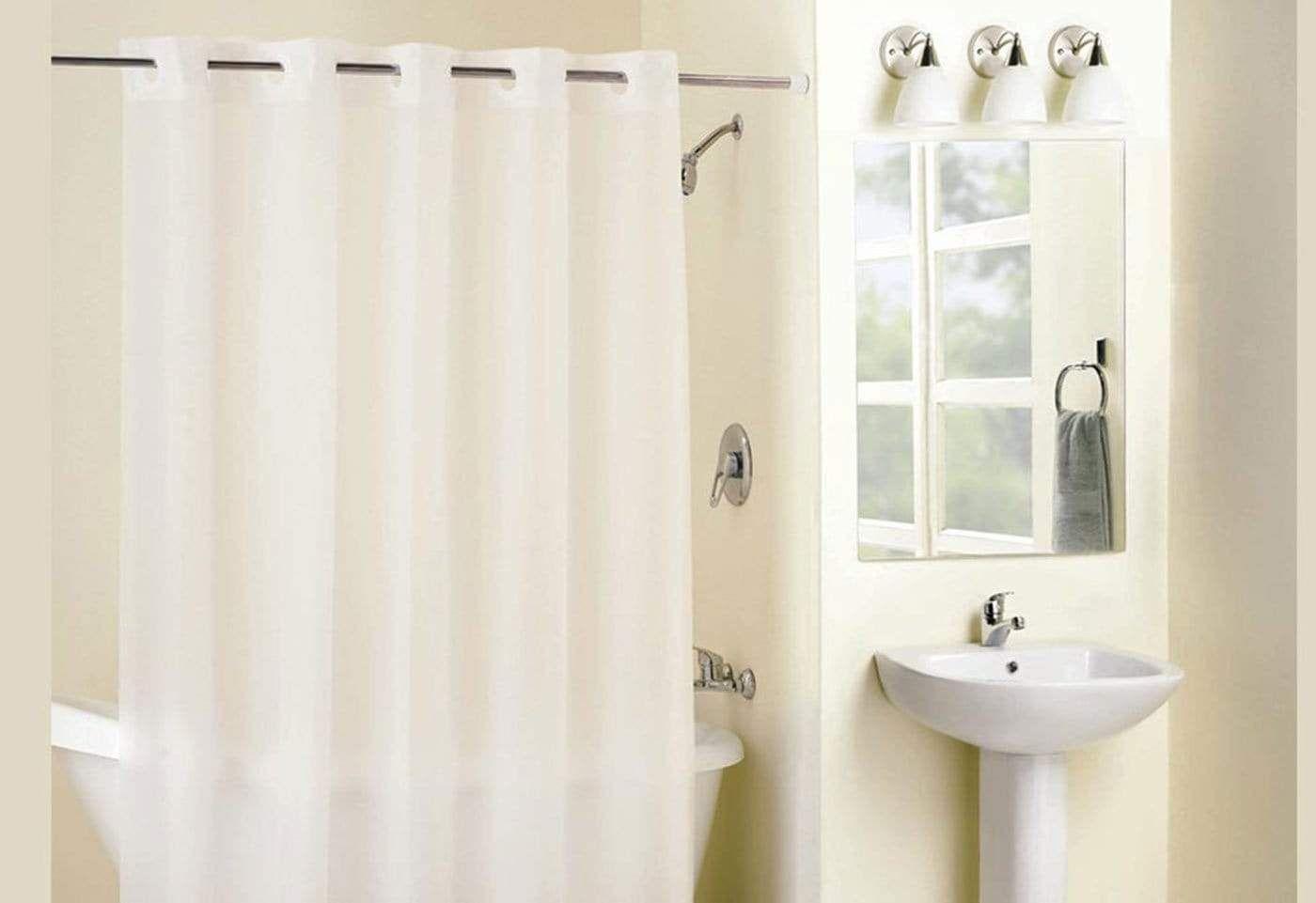 Hookless Frosty Shower Curtain In 2020 Shower Hookless Shower