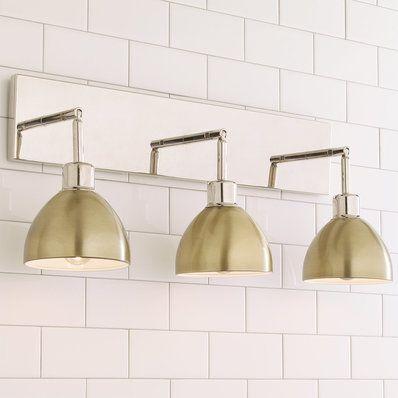 Young House Love Dapper Bath Light 3-Light | Pinterest | Bath light ...
