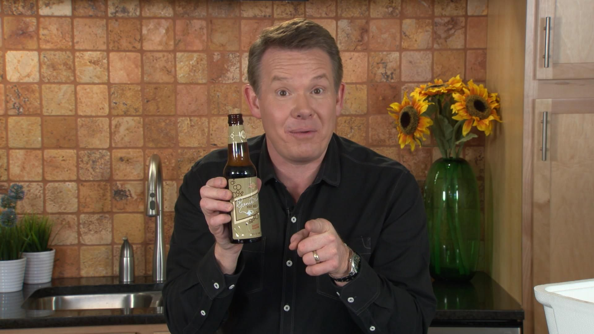 Steve Spangler uses science and some dry ice to make DIY