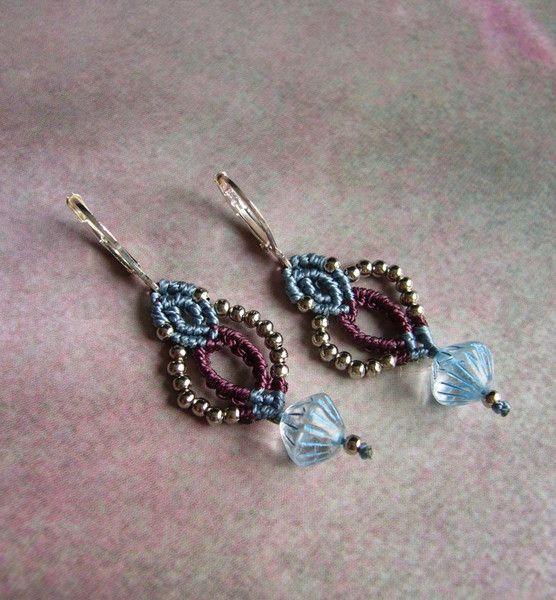 Orientalischer Schmuck - * Ohrhänger Makramée * - ein Designerstück von crochet bei DaWanda