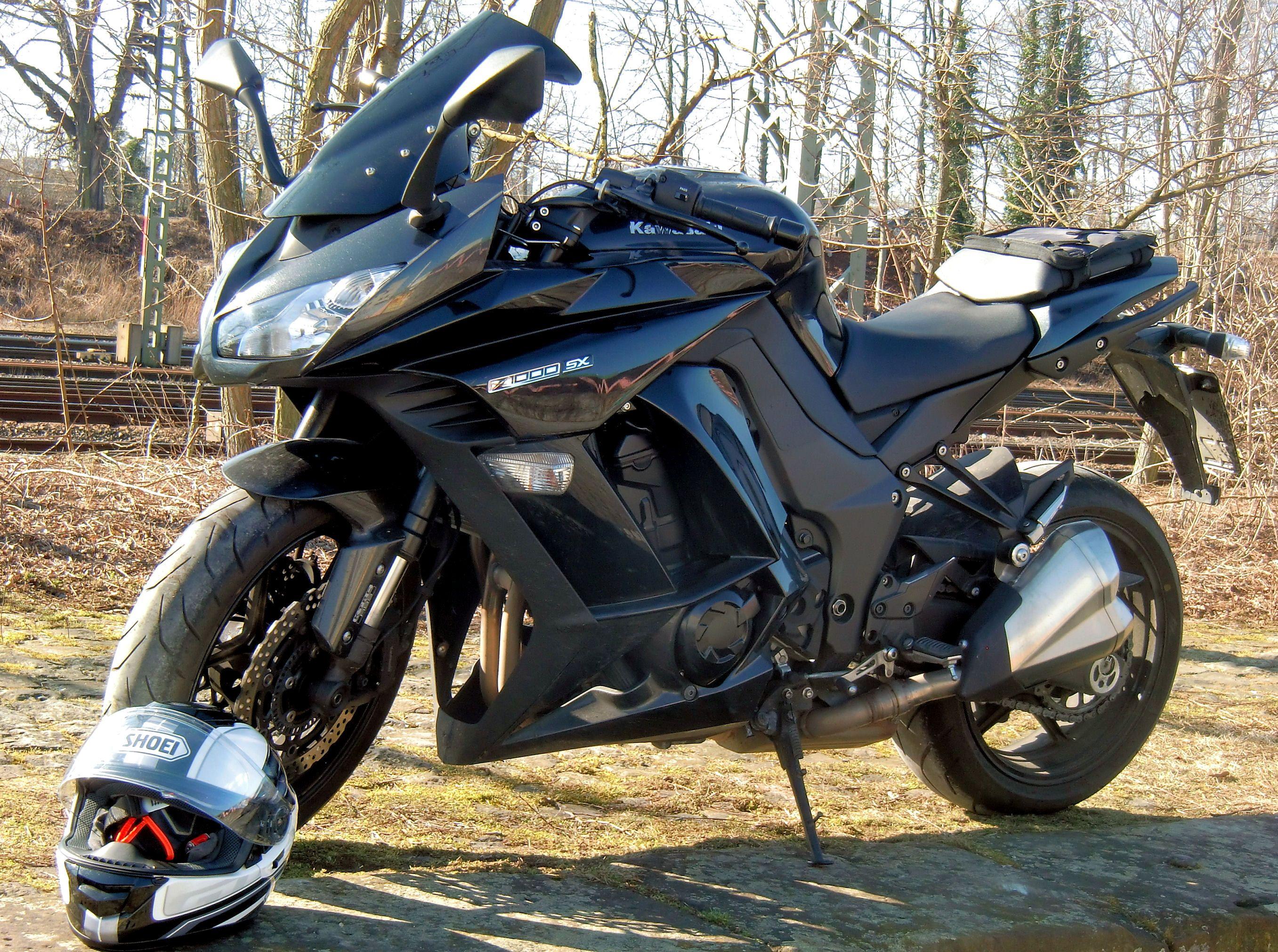 Motorrad Kawasaki Z1000sx Bikerlife Sporttourer Motorbike