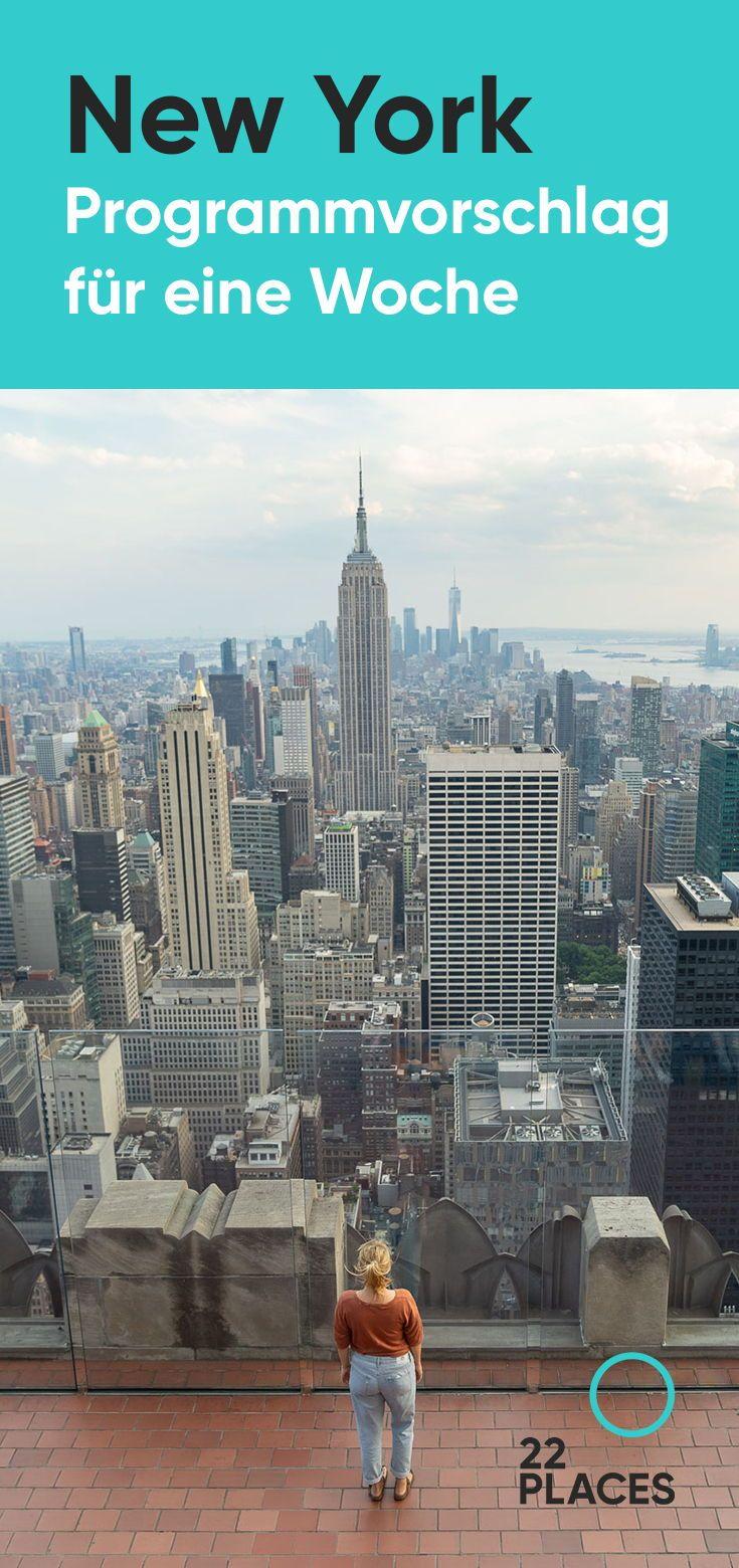 1 Woche New York: Programm für Einsteiger [+ 3, 4 & 5 Tage]