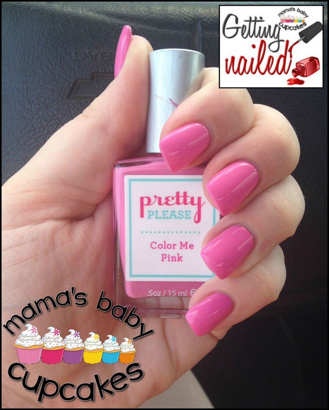Getting Nailed! Week 7. @prettypleasegal Pink. Bubble Gum Pink. Nail ...