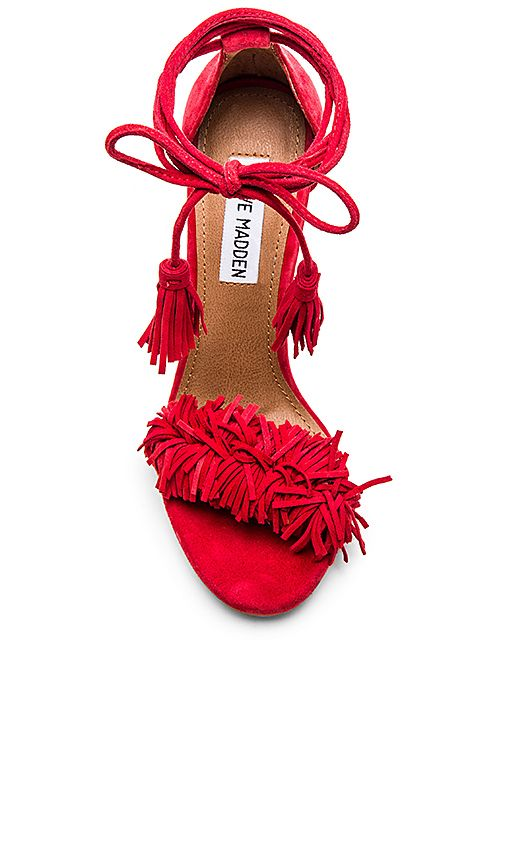9ac8f13b4b0 Shop for Steve Madden Sassey Heel in Red at REVOLVE. Free 2-3 day ...