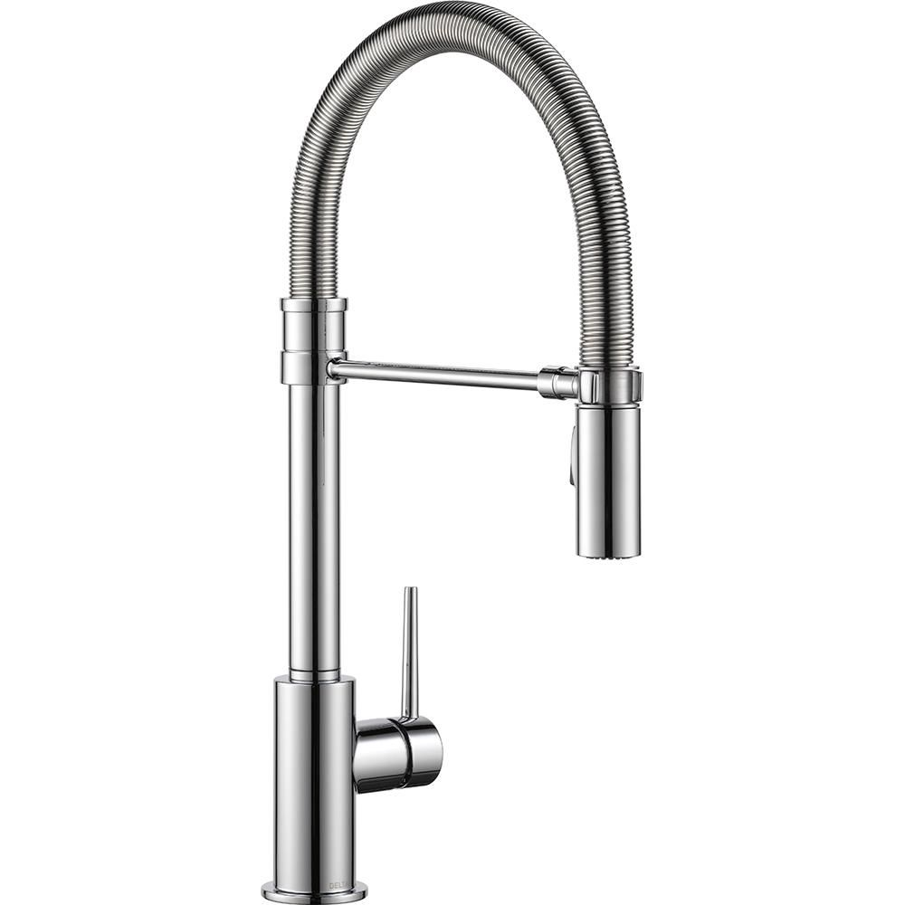 Delta Trinsic Pro Single Handle Pull Down Sprayer Kitchen Faucet