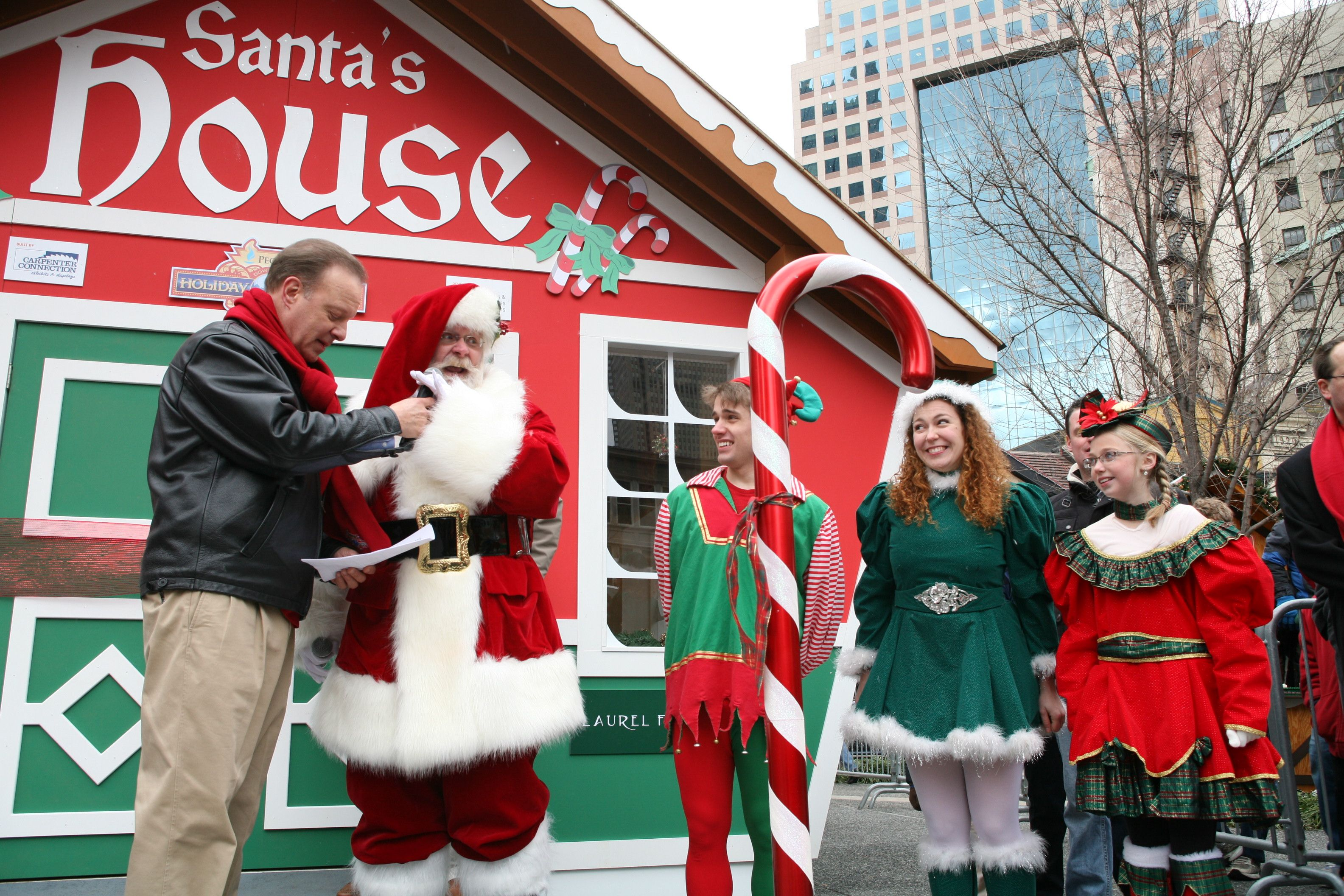 Pin By Peoples Gas Holiday Market On Santa Santa