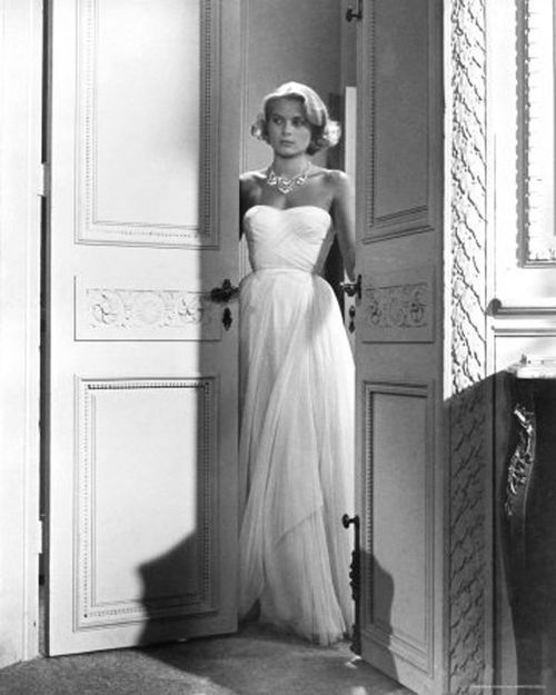 Grace Kelly in 'To Catch A Thief',  I've wanted this dress since I was like 12.