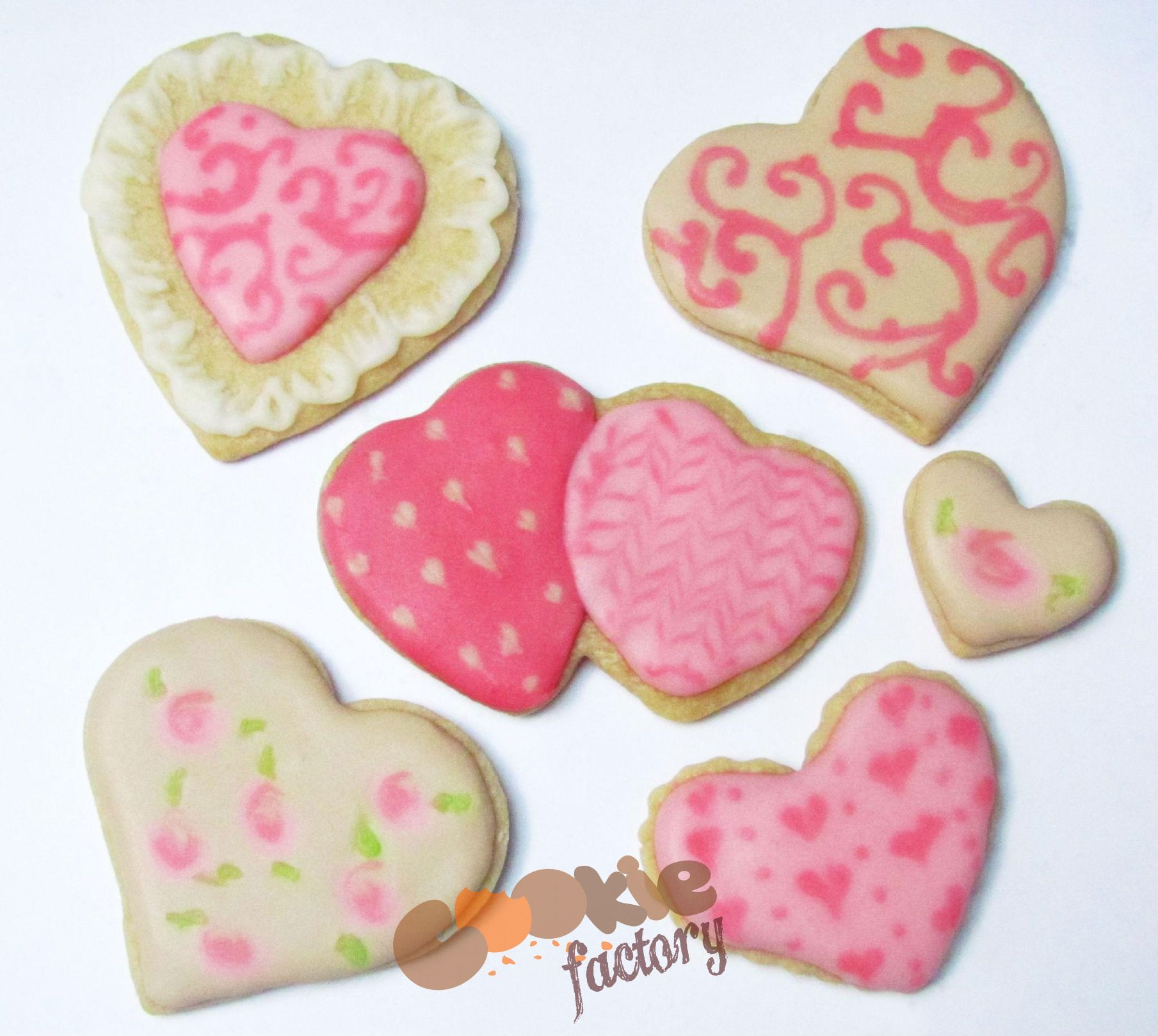 Galletas de corazón