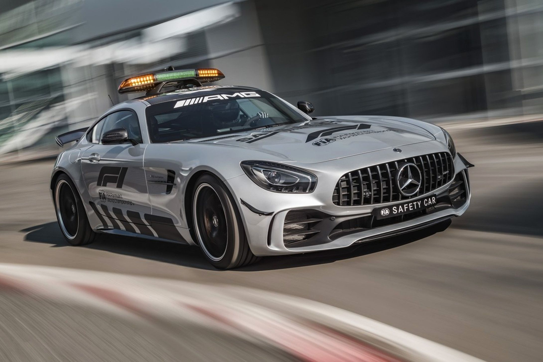 Mercedes Benz S Most Powerful Formula One Safety Car To Date Car Safety Mercedes Amg Gt R Mercedes Benz Amg
