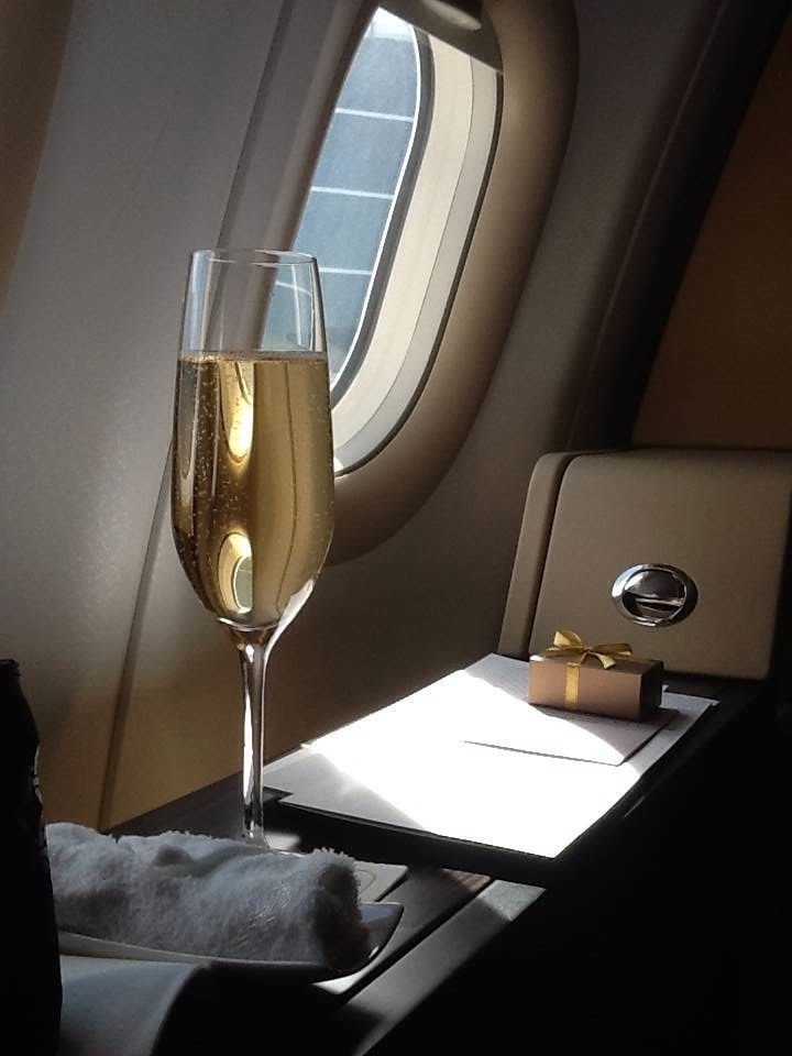 Etihad and Emirates first class parison