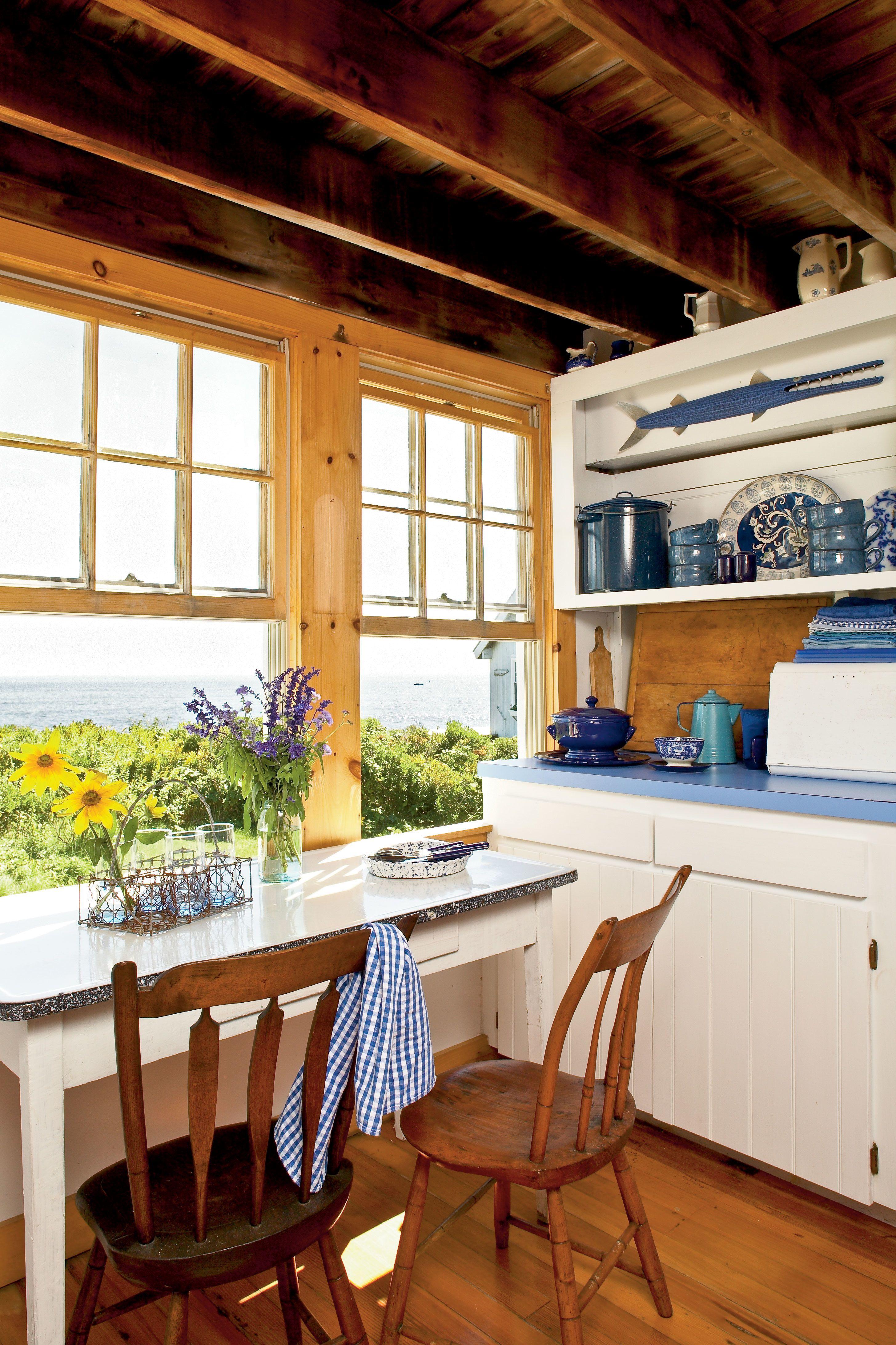 Kitchen with a view beachcottagestyle beach cottage style