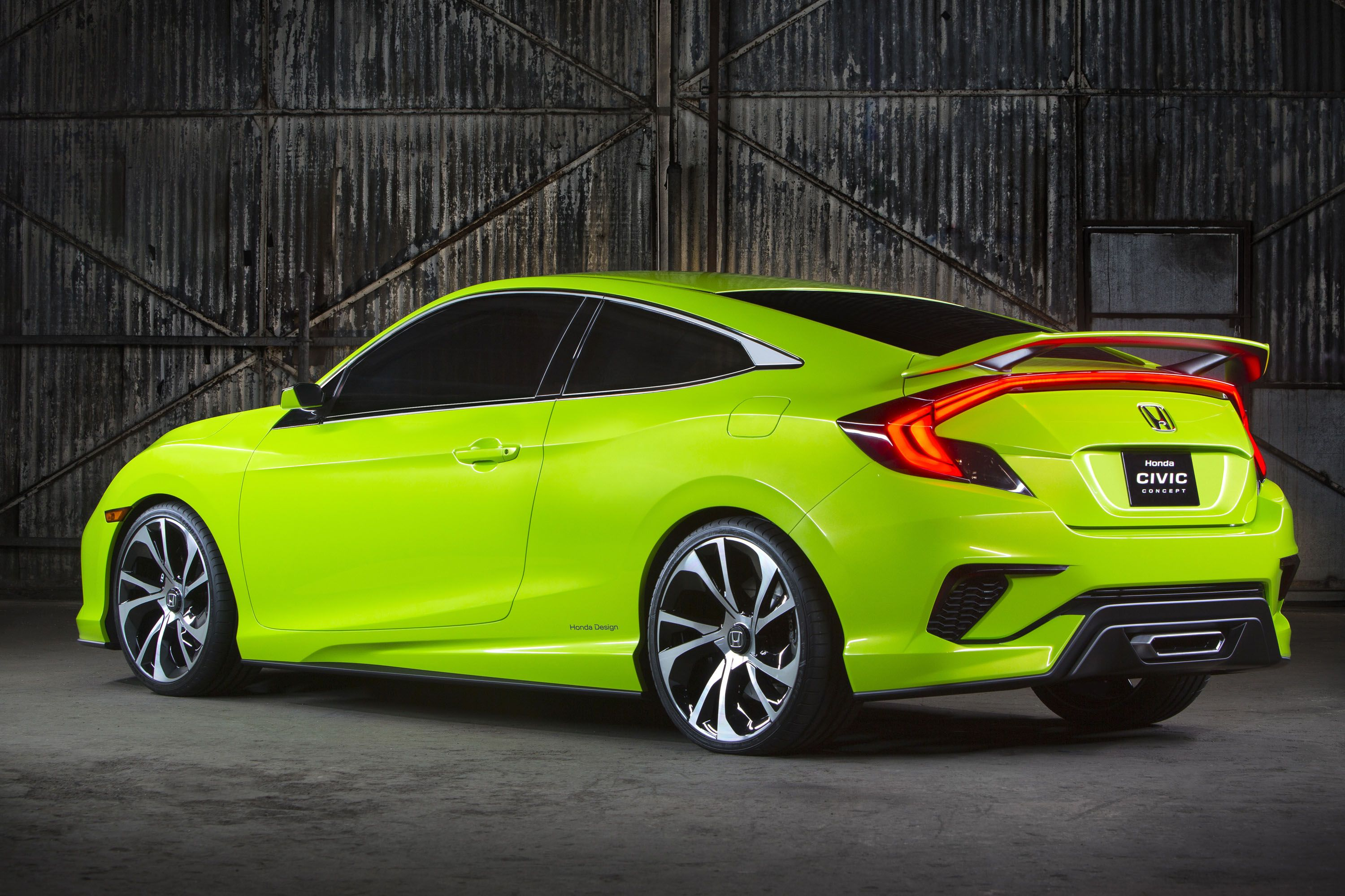 This is Honda s Wild New 2016 Civic Concept