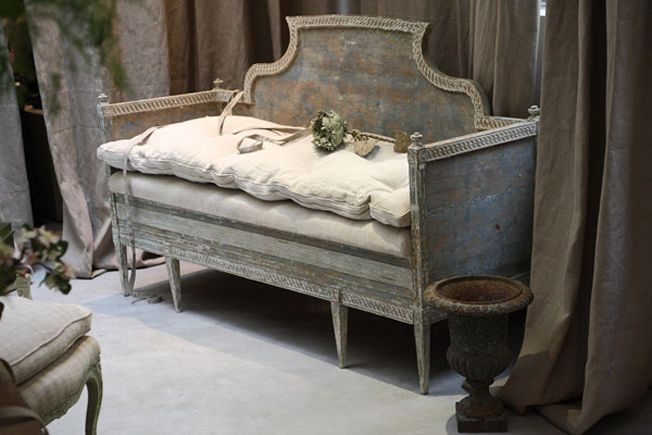 Lovely Antique Cabinet Bed