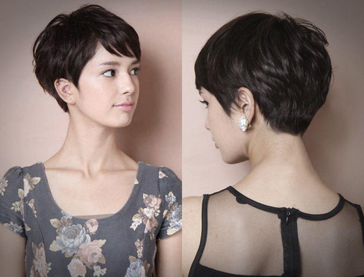 6 Gaya Rambut Pendek Wanita Yang Sesuai Dengan Bentuk ...