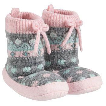 Carter's Fair Isle Slipper Socks - $12 - these look so cozy ...