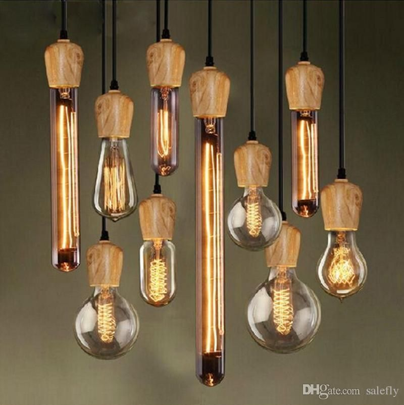 Lovely Small Pendant Lights Wholesale Led Edison Native Wood Handmade E27 Arts Bar Wooden Chandelier Hanging Led Unique - Latest small lantern pendant light Top Search