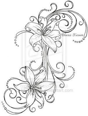 Plantillas Tattoo De Flores Eli Tattoos Tattoo Designs Y