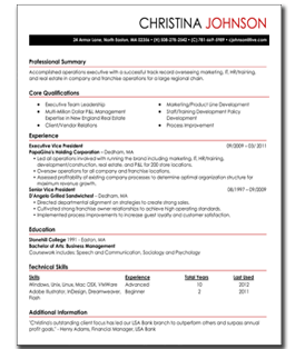 My Perfect Resume Easy To Build Resumes For Beginners