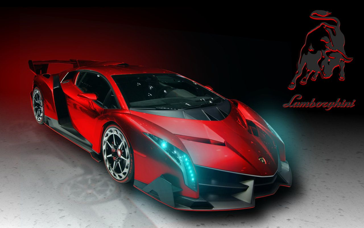 Photo of Lamborghini Veneno Red for the Nexus 10 by jester2508 on DeviantArt