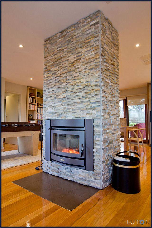 Elegant Fireplace Design Ideas with Stone