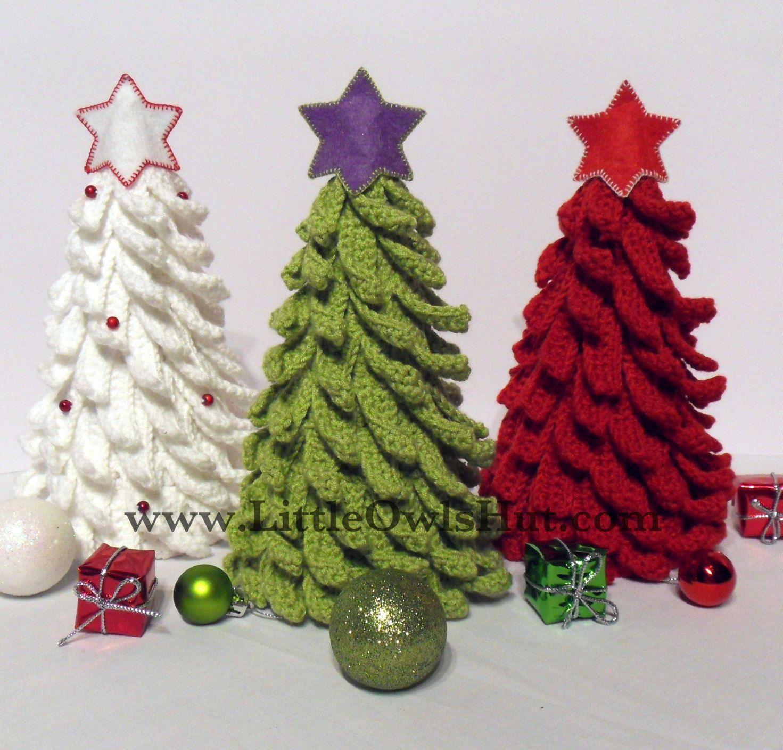 001 Christmas Tree New Year pattern Amigurumi Crochet Pattern