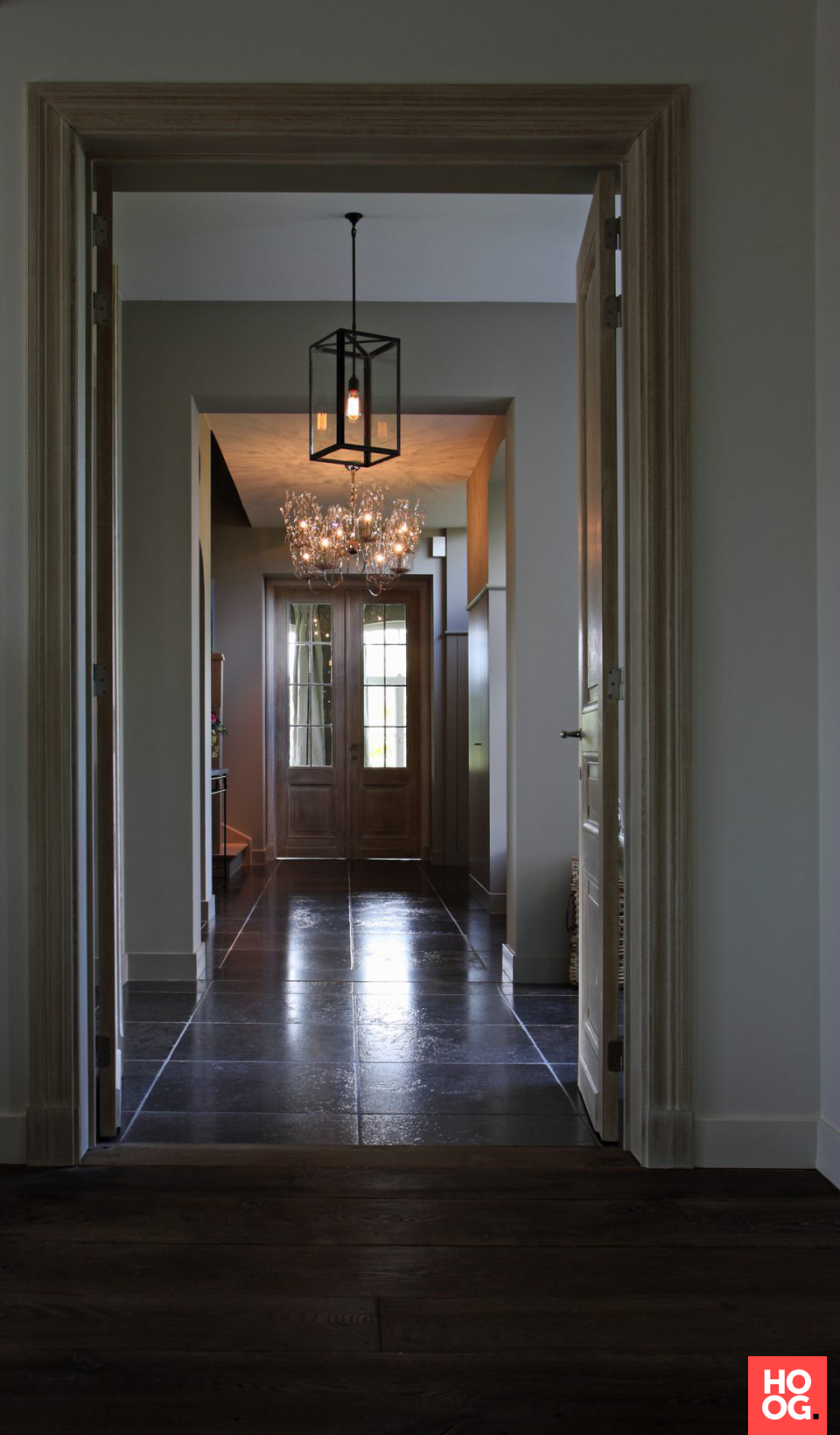 Hal landelijke stijl hal inrichting interieur for Landelijke inrichting huis