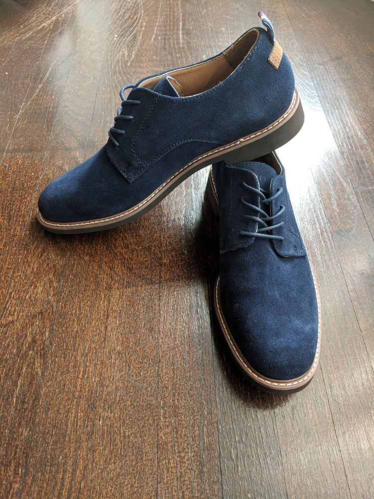 416ea36e0276b0 Tommy Hilfiger Garson Oxford Men s Navy US size 10 TMGarson  fashion   clothing  shoes  accessories  mensshoes  casualshoes (ebay link)