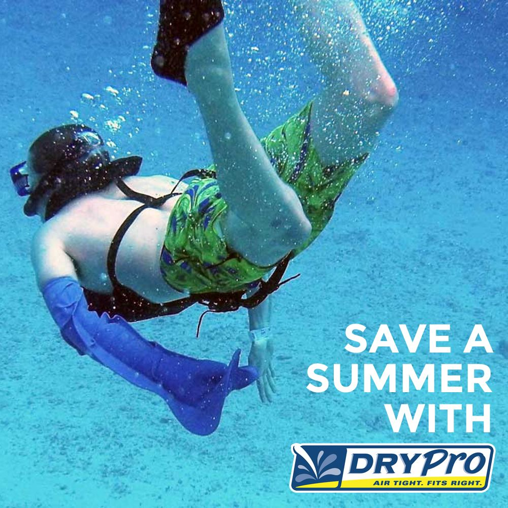 Save A Summer With Drypro The Best Waterproof Cast Cover On The