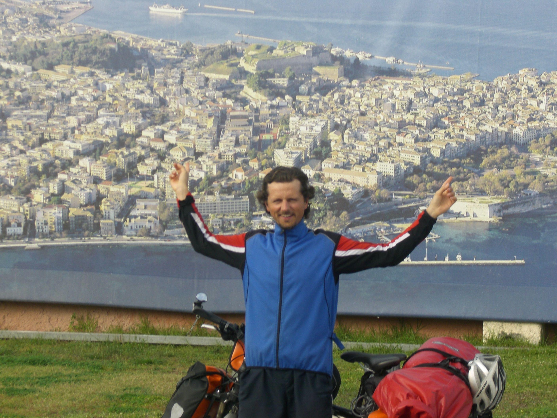 Geschafft! Ankunft auf Korfu nach 2 Monaten Reisezeit