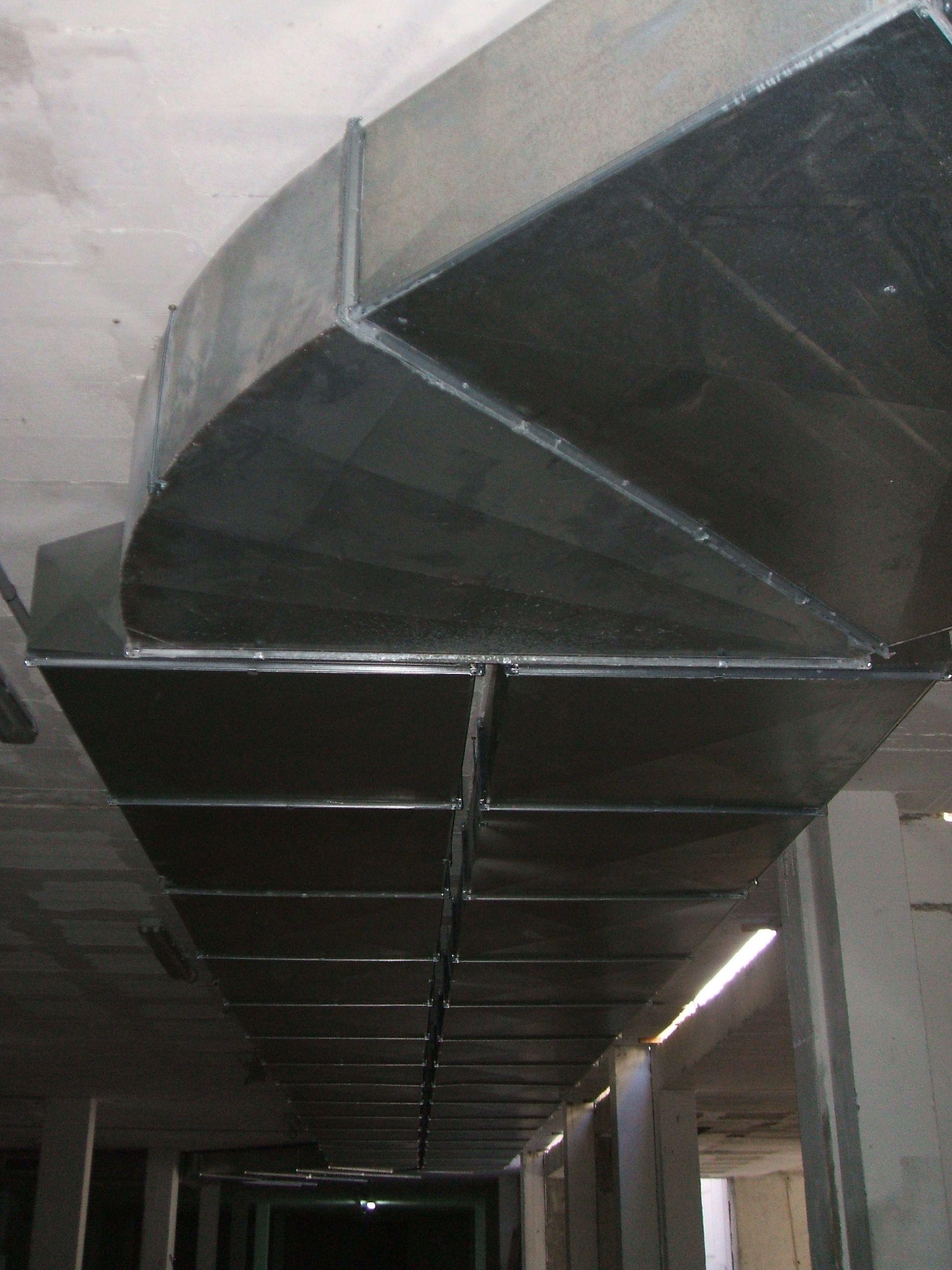 Ventilaciones de garajes.