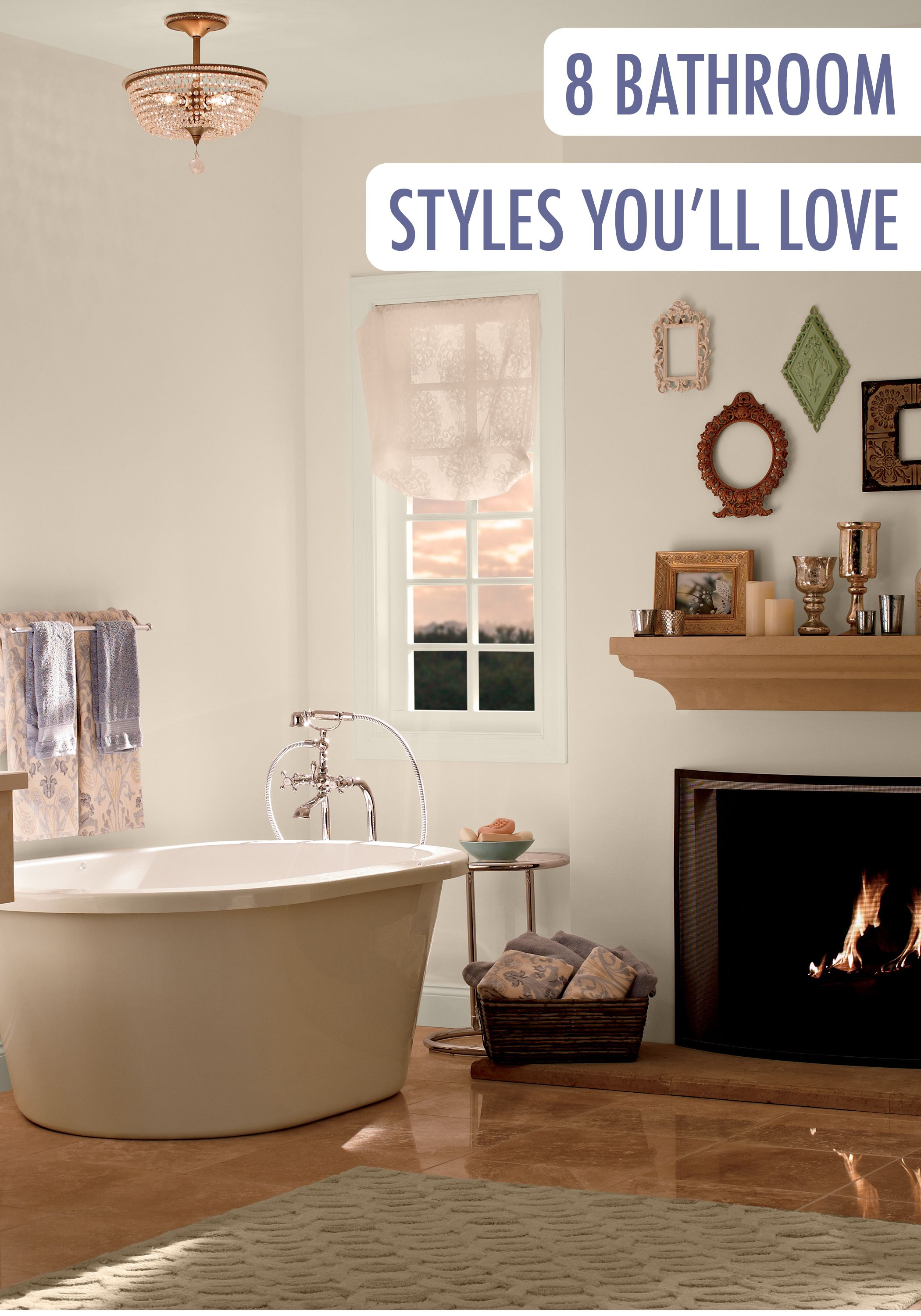 Find color inspiration when planning bathroom remodeling with BEHR s interior inspiration gallery